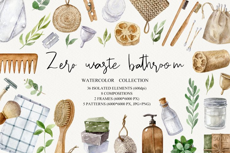 Zero waste bathroom kit example image 1