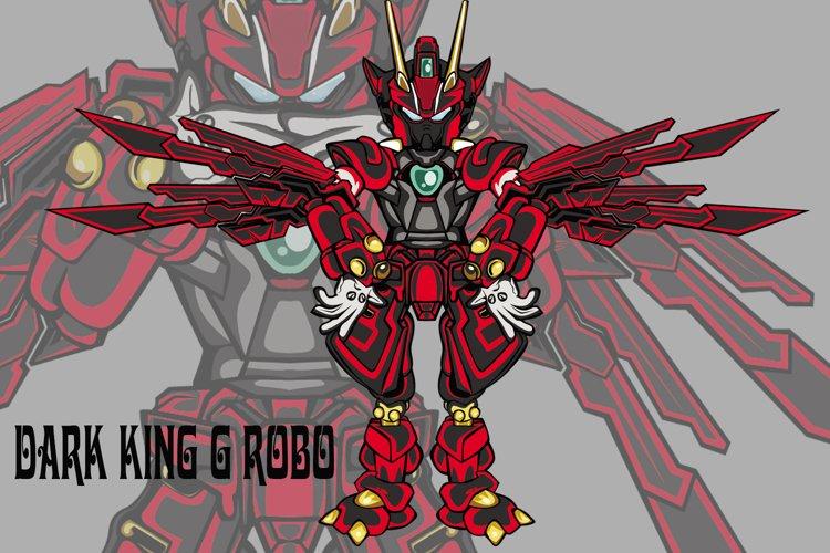 Dark King G robot