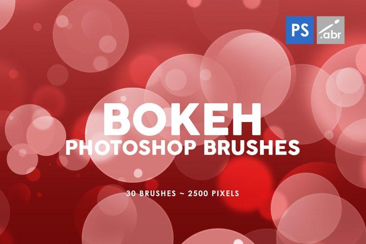 Bokeh Photoshop Stamp Brushes