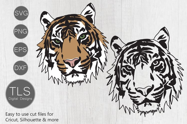 Tiger SVG example image 1