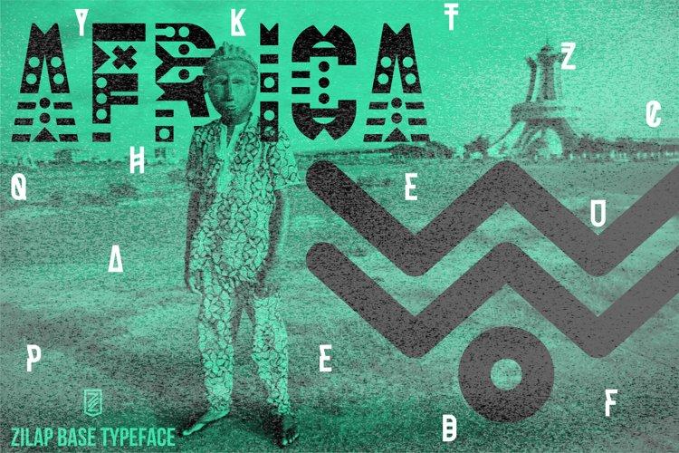Zilap Font Team Cultural example image 1