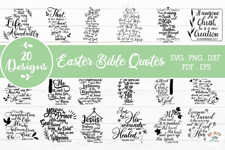 Easter Bible quotes bundle svg, inspirational Bible quotes
