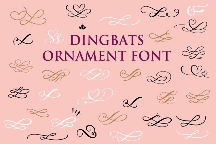 Dingbats Decorative Ornaments example image 1