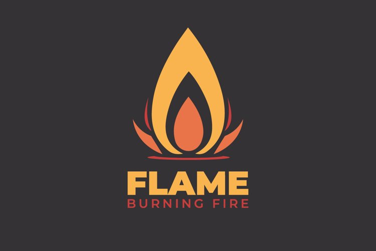 Fire Flame Logo example image 1