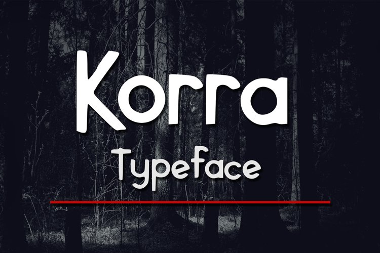 Korra Typeface