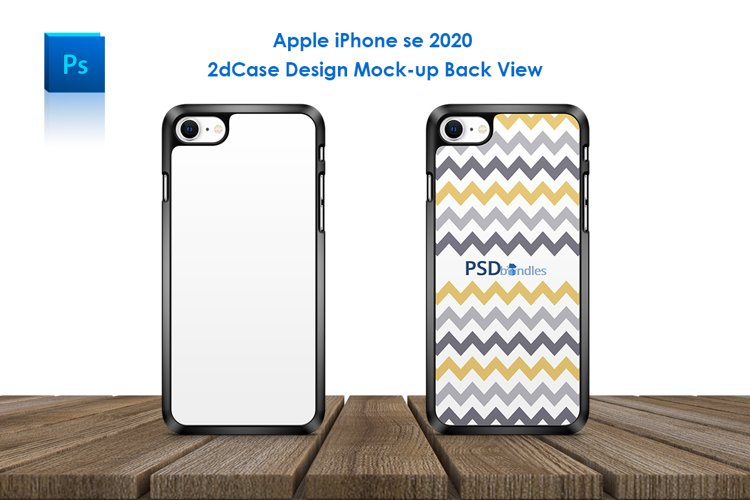 Apple iPhone SE 2020 2d Phone Case Mock-up