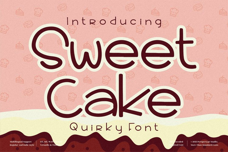 Sweet Cake - Quirky Handwritten Font