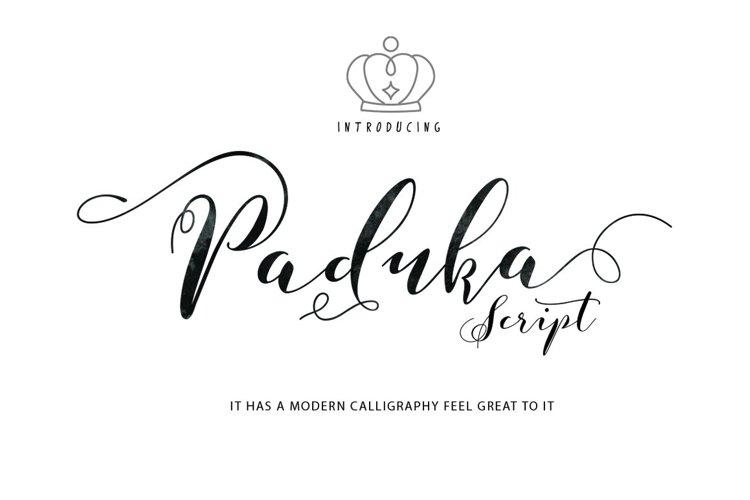 Paduka Script example image 1