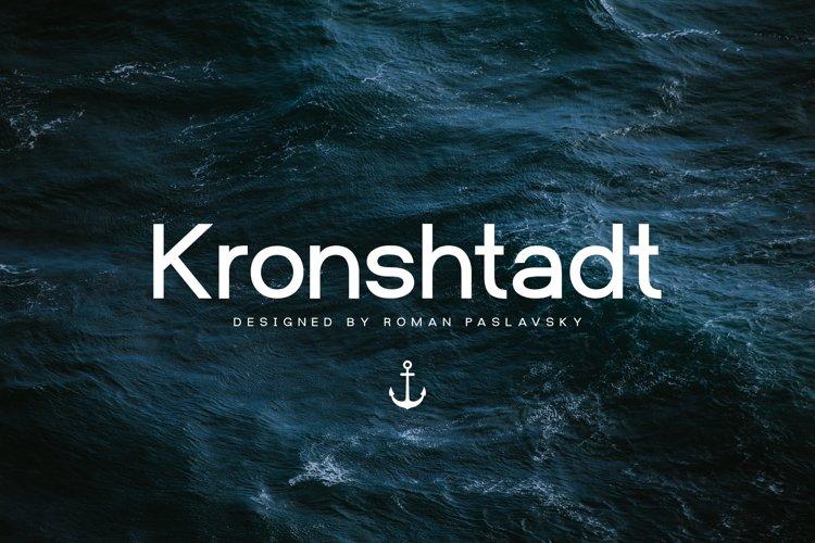 Kronshtadt - Sans Serif Typeface example image 1