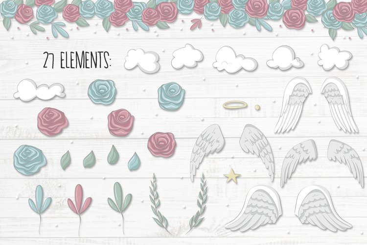 Little angels clipart - Free Design of The Week Design1