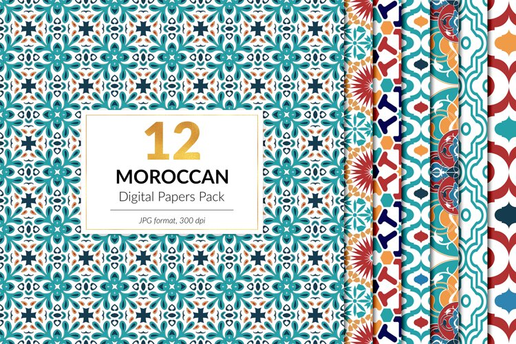Moroccan Pattern Pack example image 1