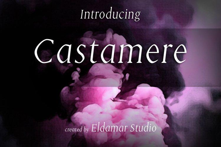 Castamere Font example image 1