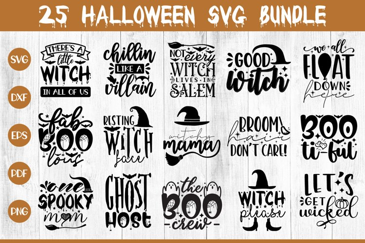 Halloween SVG Bundle, 25 Halloween SVG Cut Files example image 1