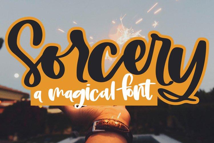 Sorcery - A Magical Handwritten Script Font example image 1