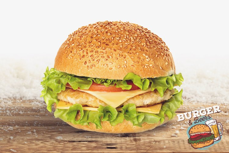 Burger Mock-up #7 example image 1