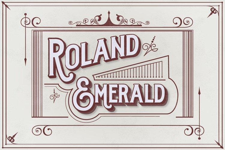 Roland Emerald  example image 1