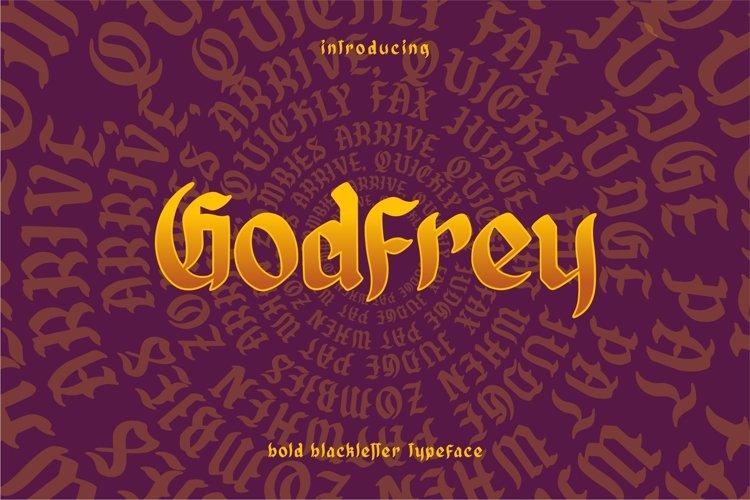 GODFREY - Blackletter example image 1
