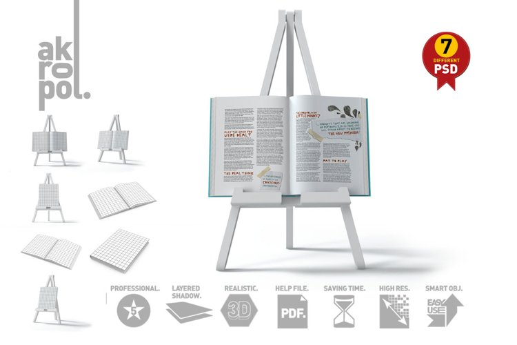 Book Mock-Up Set example image 1