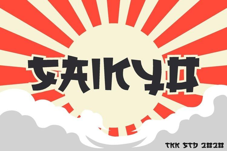 SAIKYO - Japanese Font example image 1
