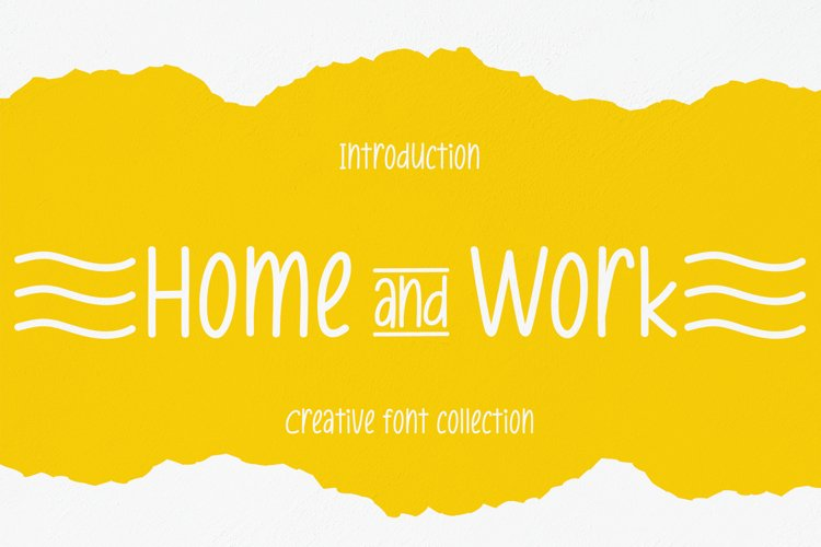 Home And Work example image 1