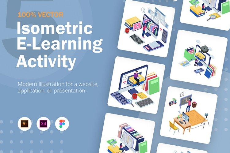 Isometric E-Learning Activity