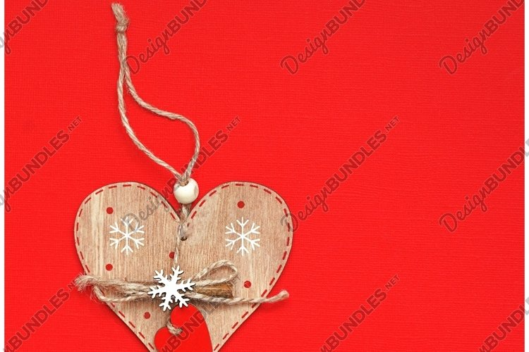 Valentine's day or Wedding romantic concept with hearts example image 1
