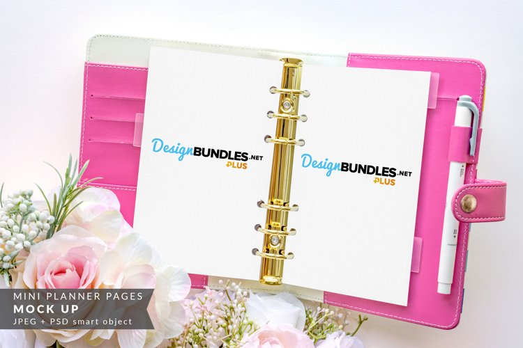 Planner Page, Sticker Pads Mock up | Mother's Day, Wedding example image 1
