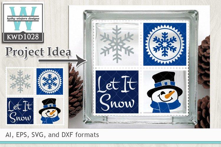 Winter SVG - Winter Stamp