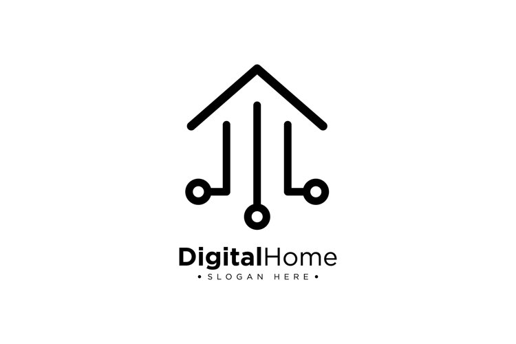Smart Home Logo example image 1