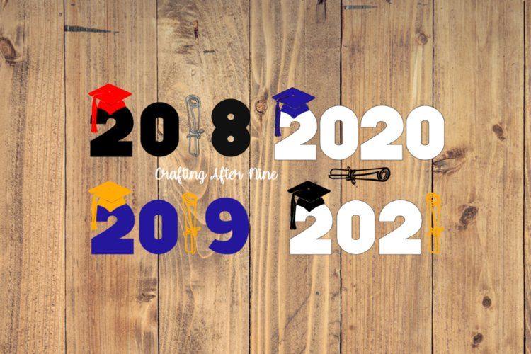 Gradutaion Svg, Senior 2018, Diploma Svg, Graduation Cap Svg, Grad Cap, Senior example image 1