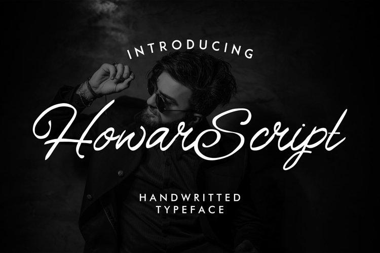 Howar Script | Elegant Handwritted example image 1