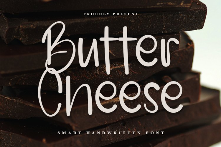 Butter Cheese - Smart Handwritten Font example image 1