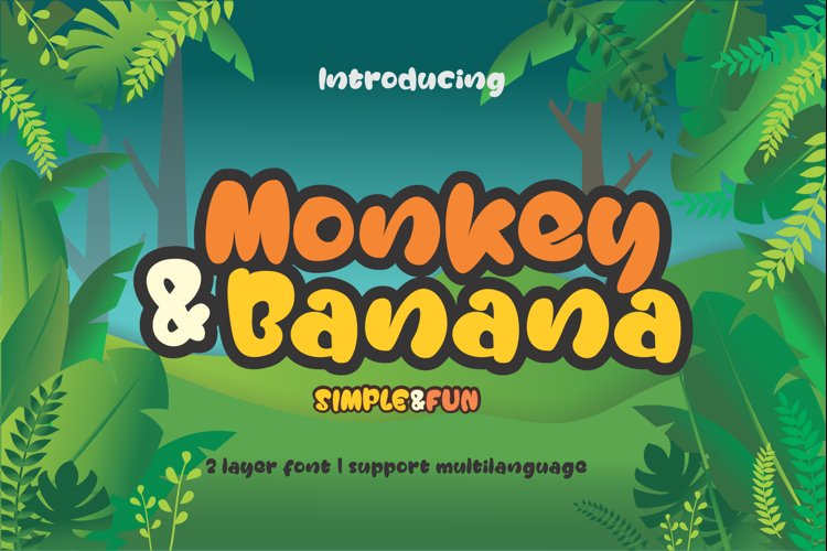 Monkey & Banana example image 1