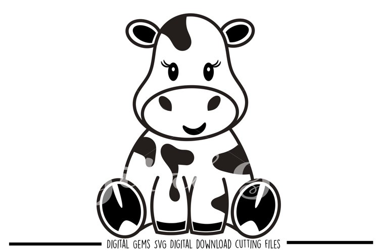 Cow SVG / DXF / EPS / PNG files