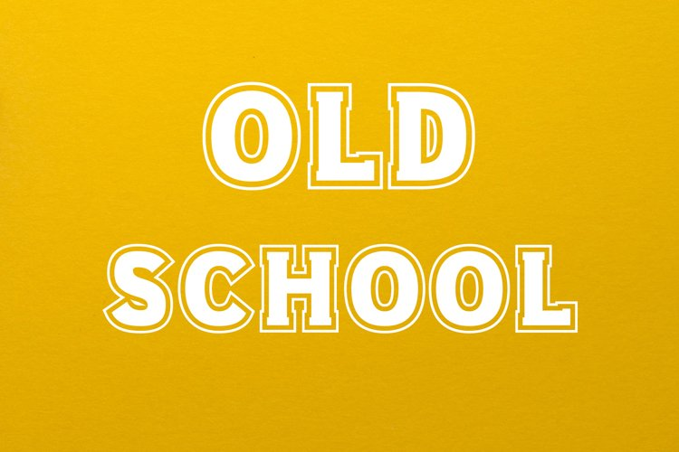Old School 80s Font example image 1