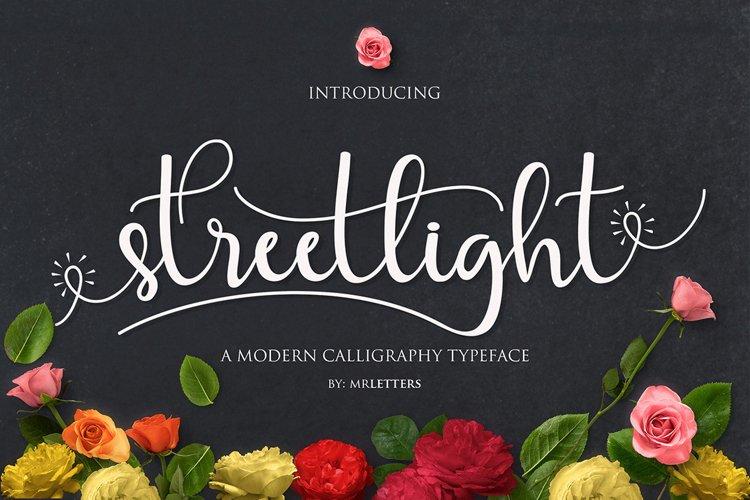 Streetlight Script | WEB FONT example image 1