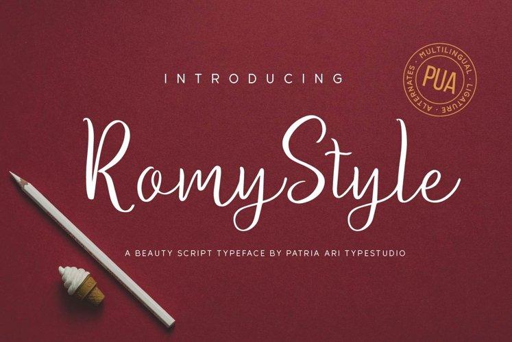 Romy Style example image 1