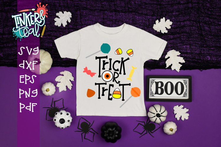 Trick or Treat Halloween SVG example image 1