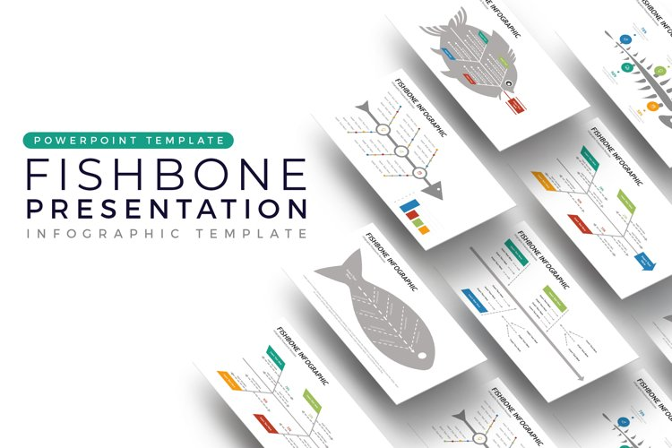 Fishbone Presentation - Infographic Template example image 1