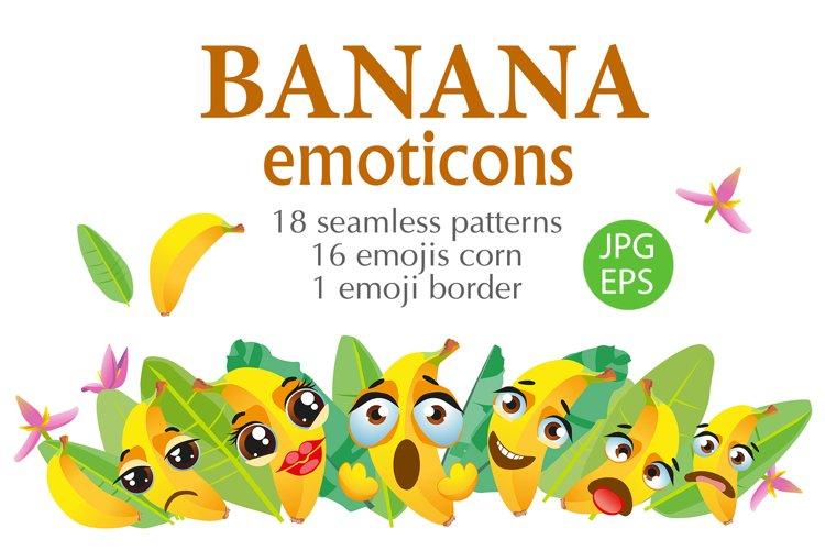 Banana emoticons example image 1