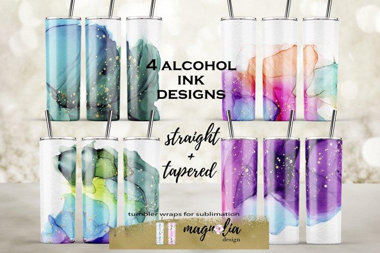 20 oz tumbler bundle alcohol ink tumbler background bundle example image 1