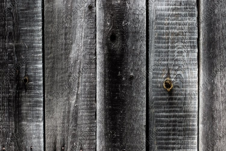 Wood texture. Grey weathered rustic wooden background example image 1