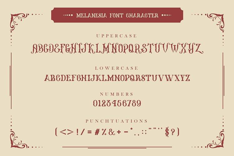 Melanesia Font example 2