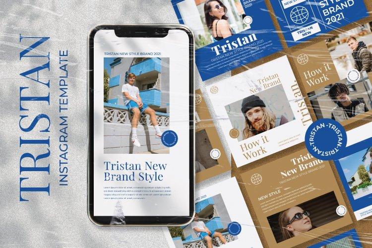 Tristan Instagram Template