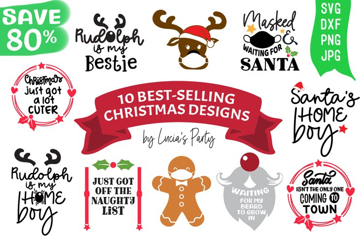 Best Selling Christmas Bundle SVG DXF PNG JPG