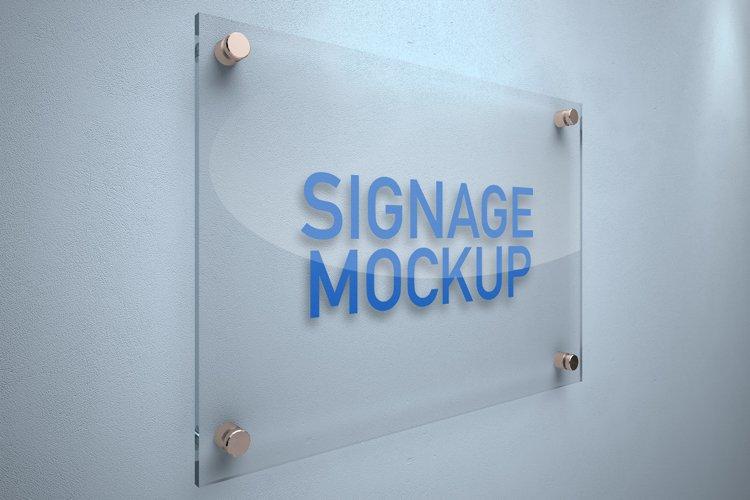 Signage Board Mockup example image 1