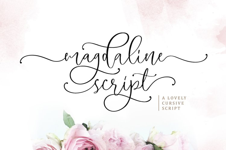 Magdaline - Lovely Script example image 1