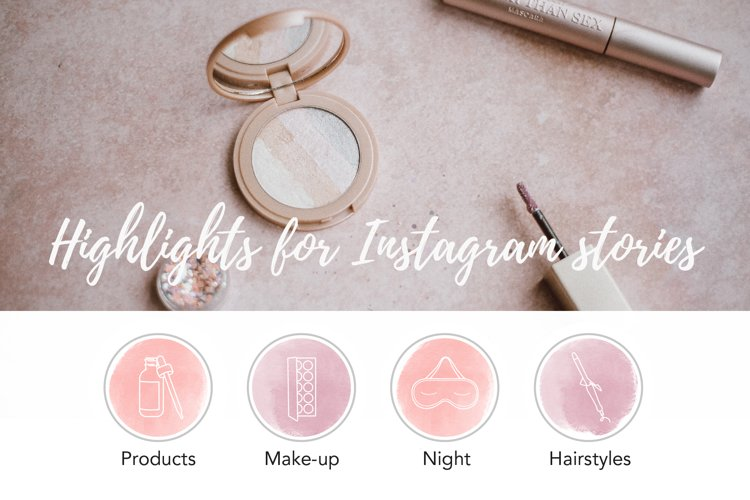Beauty Instagram Stories Highlights example image 1