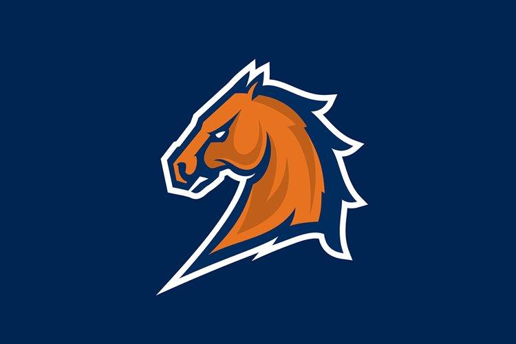 Horse head logotype