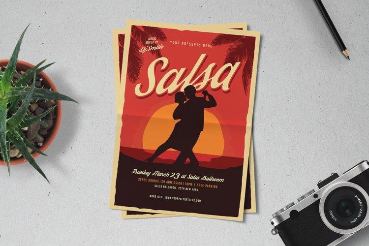 Salsa Dance Flyer example image 1